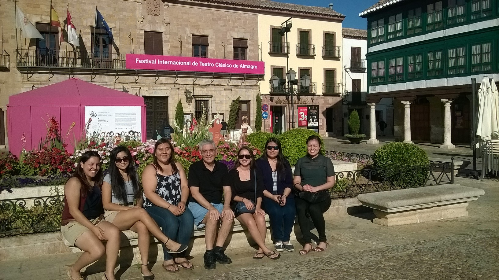Whittier Students in Spain